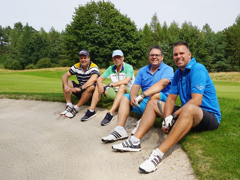 IWM-Aktuell 19 Get-together am Golf-Platz Allgemein  WOWI Wohnungswirtschaft PresseCompany Golfevent Golfclub